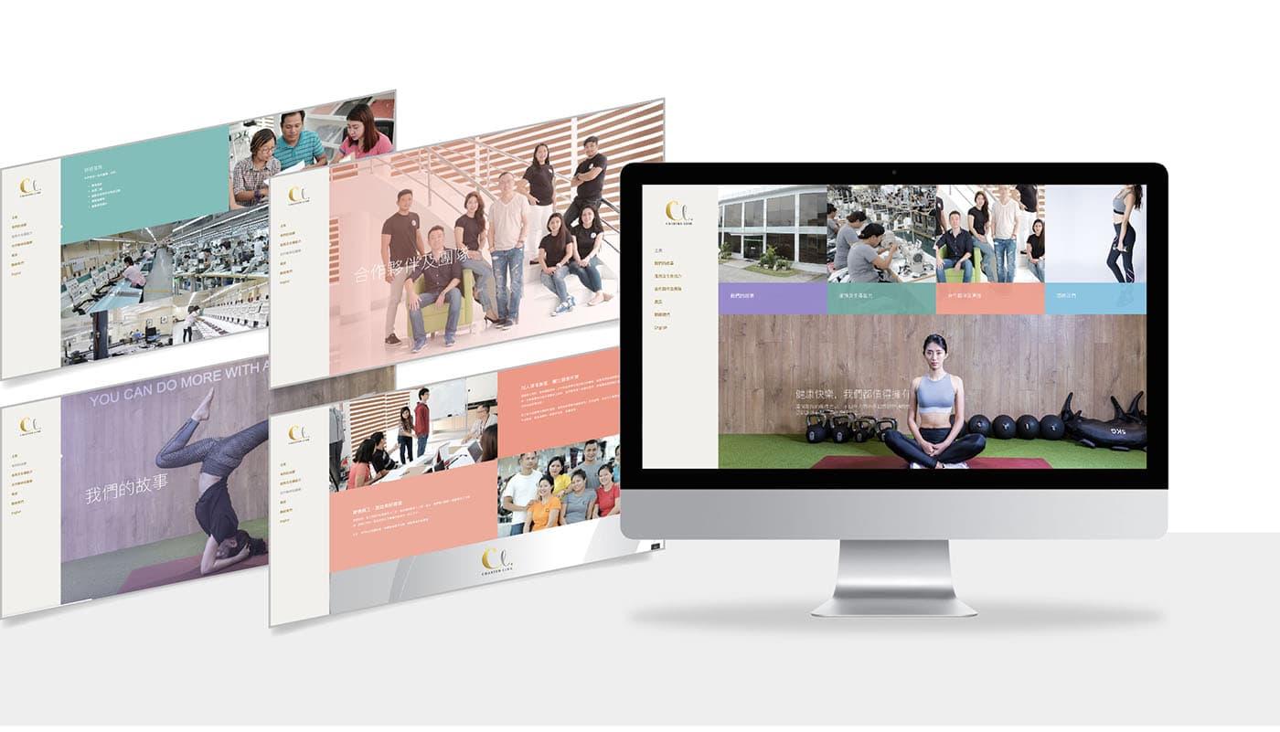 Charter Link - website design